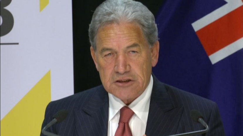 Former Deputy PM Winston Peters made the allegations against Mongrel Mob leader Harry Tam on Saturday morning.