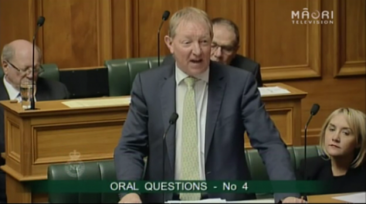 Housing Minister Nick Smith