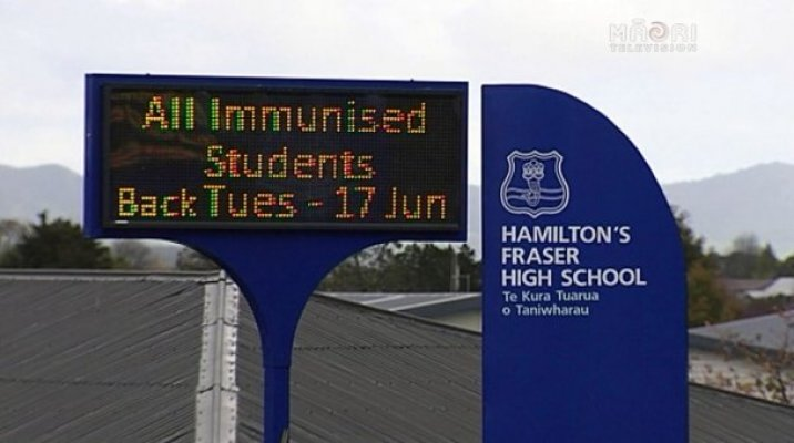 Hamilton schools on high alert over measles outbreak