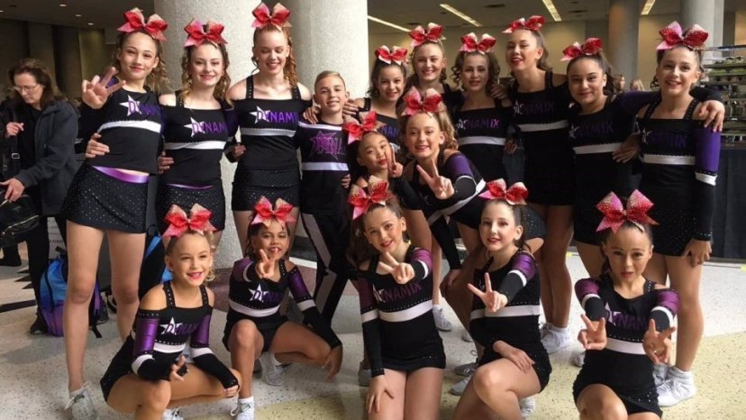 Mokopuna soars to success in US cheerleading championships ... on science map, baseball map, hip hop map, hiking map, curling map, cross country map, basketball map, diving map, triathlon map,